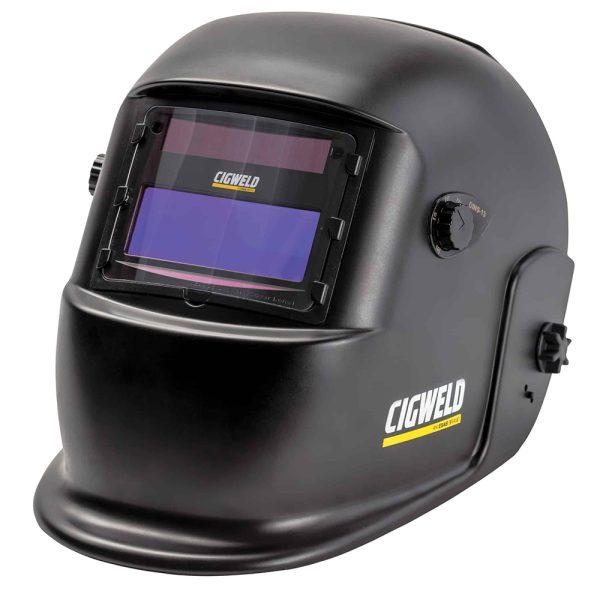 Cigweld WeldSkill Essential Auto Darkening Welding Helmet Shade 9-13 Black 454337