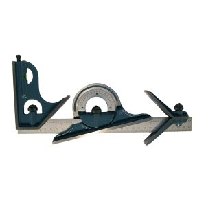 Moore Wright Combination Square Set Metric-Imperial 300mm 12-MW-520-01