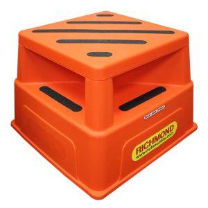 RICHMOND WHEEL SAFETY STEP ORANGE 520X520X365MM 250KG CAP SSR002